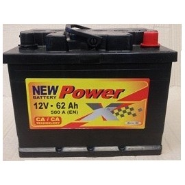 Power X 12V/62 Ah